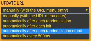 Preference URL